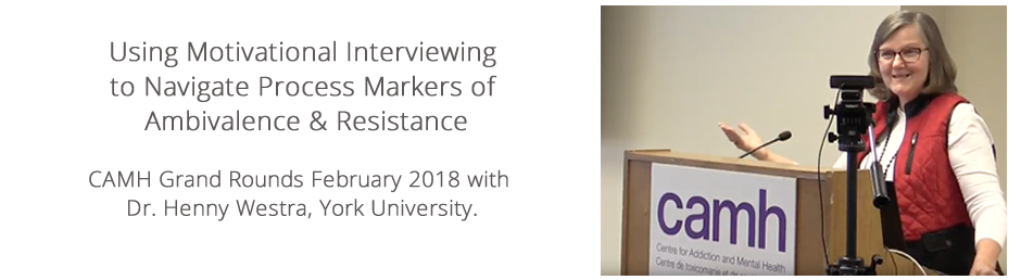 Using Motivational Interviewing to Navigate Process Markers of Ambivalence & Resistance
